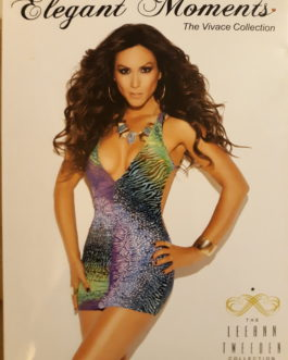 Elegant Moments 'Leeann Tweeden' Mini Dress- One Size