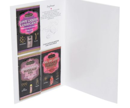Kama Sutra Naughty Notes Greeting Cards- Let's Make Magic Together...... KSNN-14006