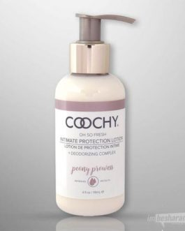 Coochy Oh So Fresh Intimate Protection Lotion- Peony Prowess 4 oz