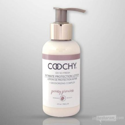 Coochy Oh So Fresh Intimate Protection Lotion- Peony Prowess 4 oz COO1020-04