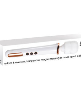 Adam & Eve's Rechargeable Magic Massager- Rose Gold Edition