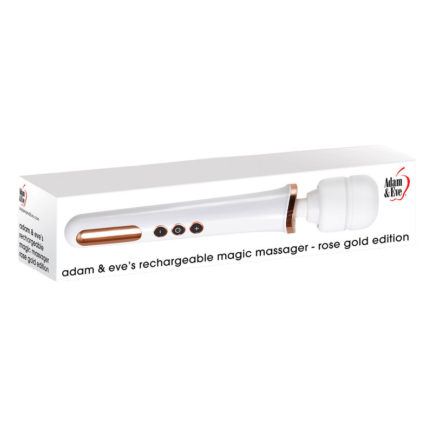 Adam & Eve's Rechargeable Magic Massager- Rose Gold Edition AE-WF-3145-2