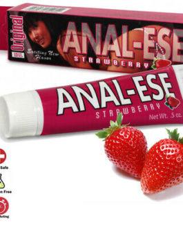 Original Anal-Ease Cream- Strawberry 1.5oz