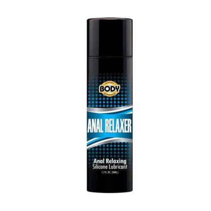 Body Action Silicone Anal Relaxer- 1.7 oz