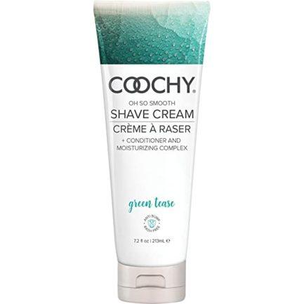 Coochy Oh So Smooth Shave Cream- Green Tease- 12.5 oz COO1007-12