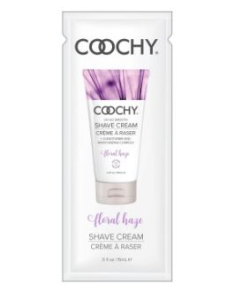Coochy Oh So Smooth Shave Cream Foil Pack- Floral Haze- 0.5 oz