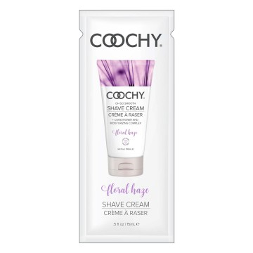 Coochy Oh So Smooth Shave Cream Foil Pack- Floral Haze- 0.5 oz COO1004-99D