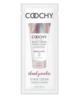 Coochy Oh So Smooth Shave Cream Foil Pack- Island Paradise-  0.5 oz