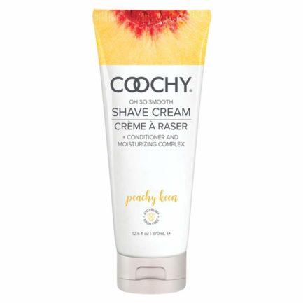 Coochy Oh So Smooth Shave Cream- Peachy Keen- 12.5 oz COO1014-12