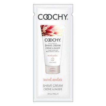 Coochy Oh So Smooth Shave Cream- Sweet Nectar- 0.5 oz COO1006-99D
