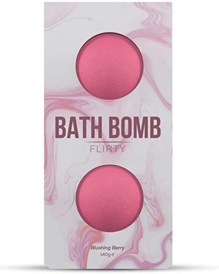 "DONA Bath Bombs- ""Flirty""- Blushing Berry"