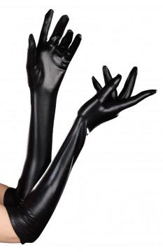 Dreamgirl Dominique Glove- Black- One Size 7819-OS