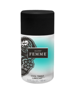 Wet Elite Femme Cool Tingle Water-based Lubricant- 5 oz.