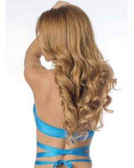 Escante Fusions Tri-Top Halter- Ocean Blue- One Size