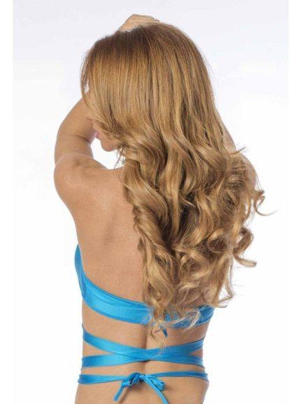 Escante Fusions Tri-Top Halter- Ocean Blue- One Size 1166-OBLUE