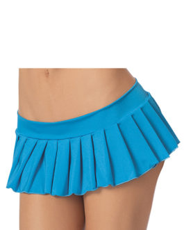 Escante Fusions Pleated Skirt- Ocean Blue- One Size