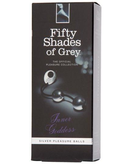 Fifty Shades of Grey Inner Goddess Silver pleasure Balls LHR-40174