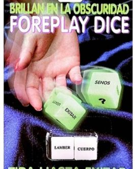 Brillan En La Obscuridad- Foreplay Dice- Glow-In-The-Dark Spanish Version