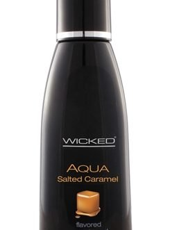 Aqua Salted Caramel Water-Based Lubricant – 4 Oz.