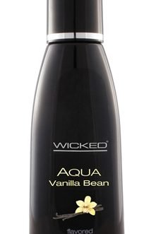 Aqua Vanilla Bean Water-Based Lubricant – 4 Oz.