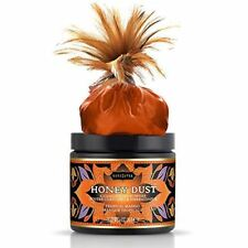 Kama Sutra Honey Dust Kissable Body Powder- Tropical Mango- 6 oz.