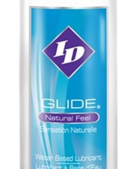 ID Glide Natural Feel Water-based Lubricant- 4.4 oz.