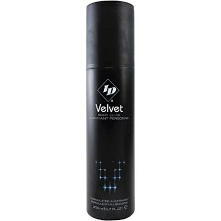 ID Velvet Body Glide Silicone Based Personal Lubricant- 6.7 oz. ID-VEL-21
