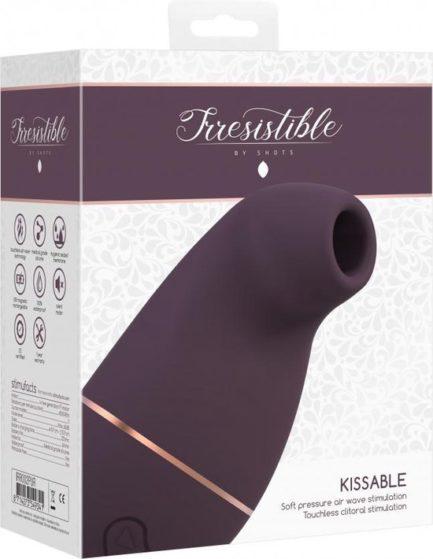 Irresistible Kissable Stimulator IRR002-PUR