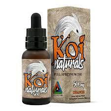 Koi Naturals Broad Spectrum CBD Hemp Supplement- 500 mg- Orange KOI-500-ORANGE