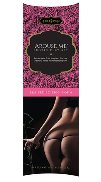 Kama Sutra 'Arouse Me' Erotic Play Set KS10950