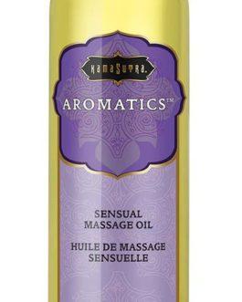 Kama Sutra Aromatics Sensual Massage Oil- Harmony Blend- 8 oz.