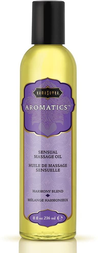 Kama Sutra Aromatics Sensual Massage Oil- Harmony Blend- 8 oz. KS0022