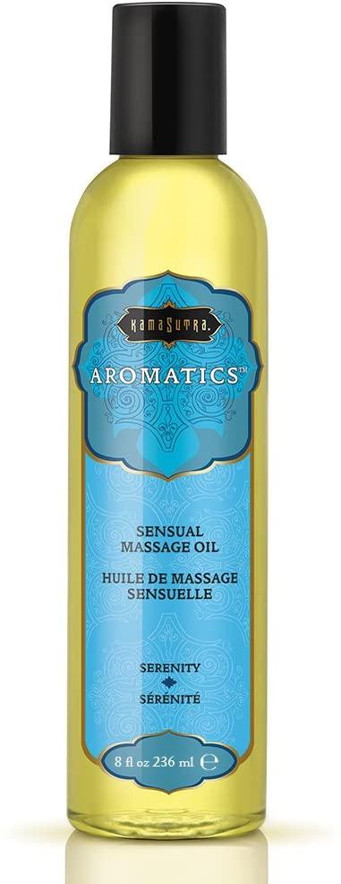Kama Sutra Aromatics Sensual Massage Oil- Serenity- 8 oz. KS0015