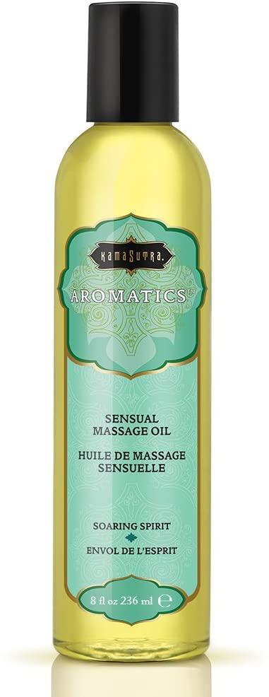 Kama Sutra Aromatics Sensual Massage Oil- Soaring Spirit 8oz. KS0023