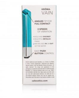 Calextics Kroma Vain Mini Vibrator- Teal