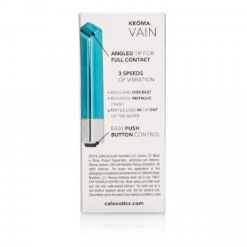 Calextics Kroma Vain Mini Vibrator- Teal SE0064203