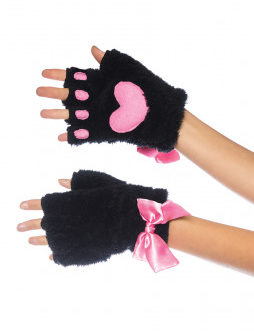 Leg Avenue Adult Cat Paw Finger Gloves-One Size