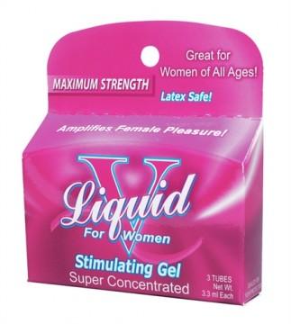 Body Action Liquid V For Women- 3 Pack BA-LVB