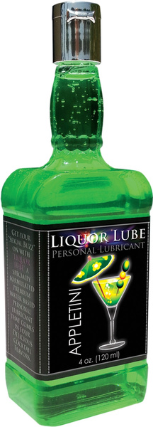Liquor Lube Water-based Personal Lubricant Appletini- 4oz. HTP2853