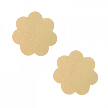 Neva Nude Nipztix Pasties- Honey Light Nude Petal NN-HON-NUD-PET