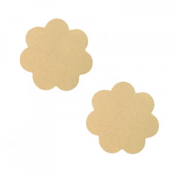 Neva Nude Nipztix Pasties- Honey Light Nude Petal NN-HON-NUD-PET