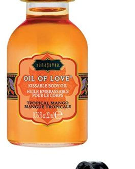 Kama Sutra Oil Of Love Kissable Body Oil- Tropical Mango .75