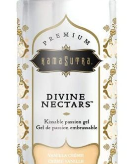 Kama Sutra Devine Nectars- Premium Kissable Passion Gel- Vanilla Creme- 5 oz.