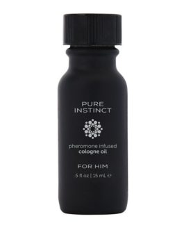 Pure Instinct Pheromone Infused Cologne Oil For Him- .5 oz