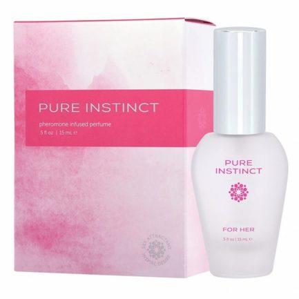 Pure Instinct Pheromone Infused Perfume For Her- .5 oz. JEL4501-10