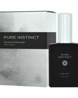 Pure Instinct Pheromone Infused Cologne For Him- 1 oz.
