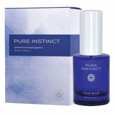 Pure Instinct True Blue Unisex Pheromone Infused Fragrance- .85 oz. JEL4502-10