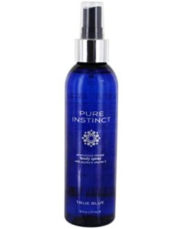 Pure Instinct True Blue Pheromone Infused Body Spray w/ Jojoba & Vitamin E- 6 fl. oz.