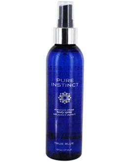 Pure Instinct True Blue Pheromone Infused Body Spray w/ Jojoba & Vitamin E- 6 fl. oz.