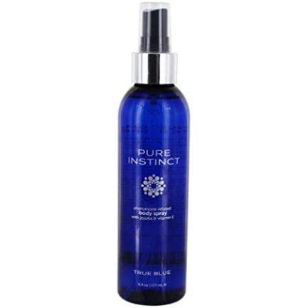 Pure Instinct True Blue Pheromone Infused Body Spray w/ Jojoba & Vitamin E- 6 fl. oz. JEL4701-06
